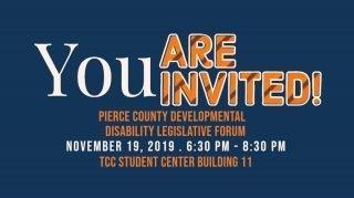 Tacoma - Pierce County Legislative Forum @ Tacoma Community College, Building 11 | Tacoma | Washington | United States
