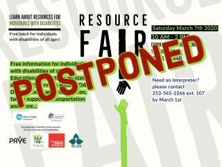 *** POSTPONED - Tacoma - Pierce County Disability Resource Fair @ Franklin Pierce High School | Tacoma | Washington | United States
