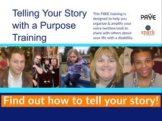 Telling Your Story with a Purpose Workshop @ Online Zoom