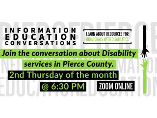 Online - Information Education Conversations @ Zoom Event