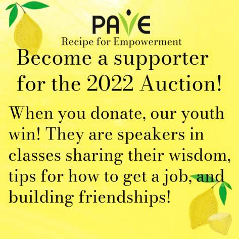 Become a supporter for the 2022 Auction