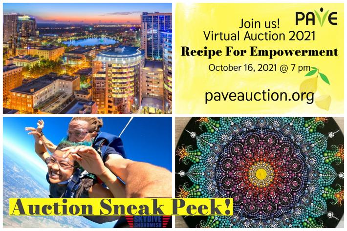 Auction sneak peek Recipe for Empowerment Auction October 16, 2021